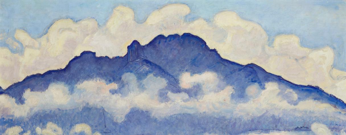 La pointe d'Andey, vallée de l'Arve (Haute-Savoie), Hodler, Ferdinand