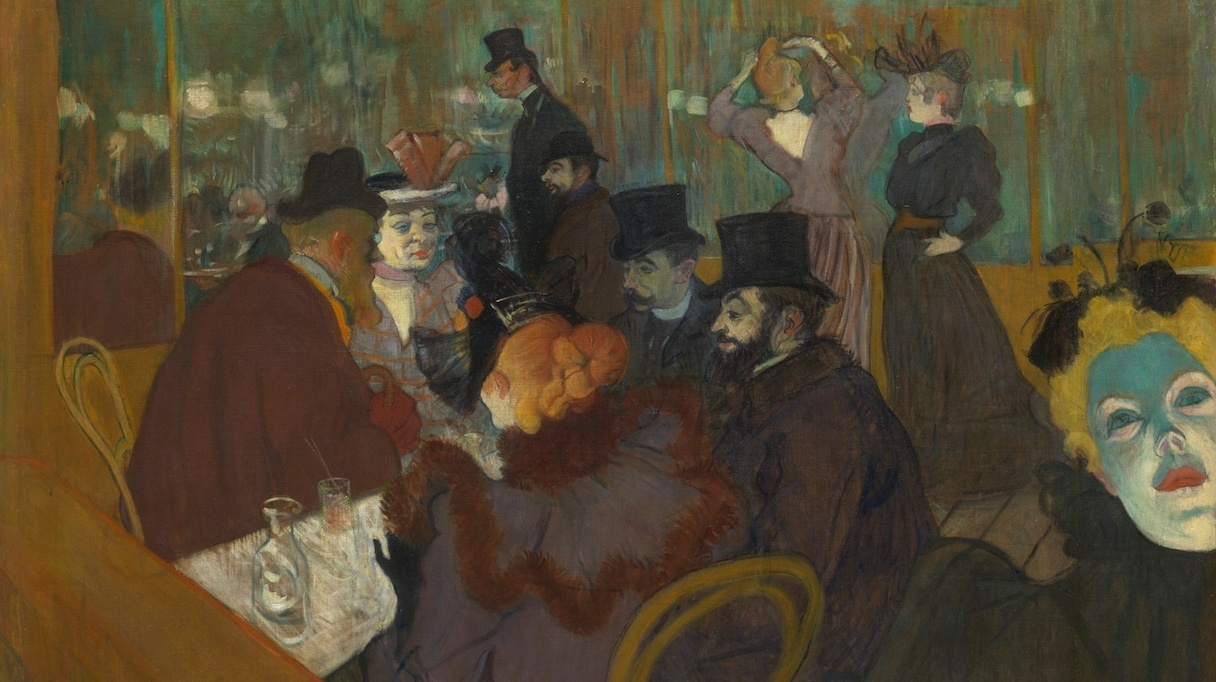 Au Moulin Rouge, Henri de Toulouse-Lautrec