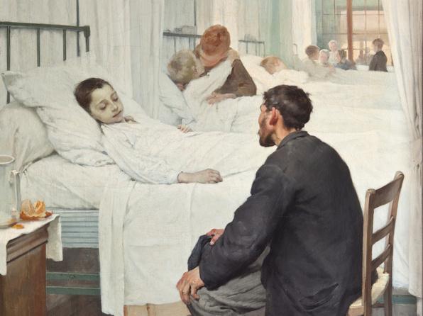 Le Jour de la visite à l'hôpital