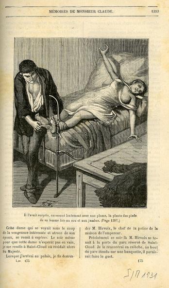 Sylvain Goudemare et Antoine-France Claude-Illustration de Les mémoires de Monsieur Claude (Original pour le Lion de Belfort 28)