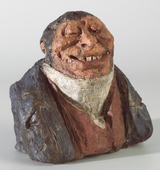 Honoré Daumier-Comte Auguste Hilarion de Kératry dit aussi L'obséquieux (après restauration)