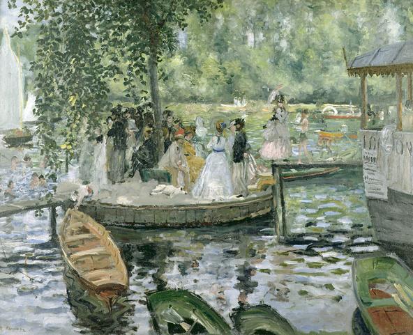 Pierre-Auguste Renoir-La Grenouillère
