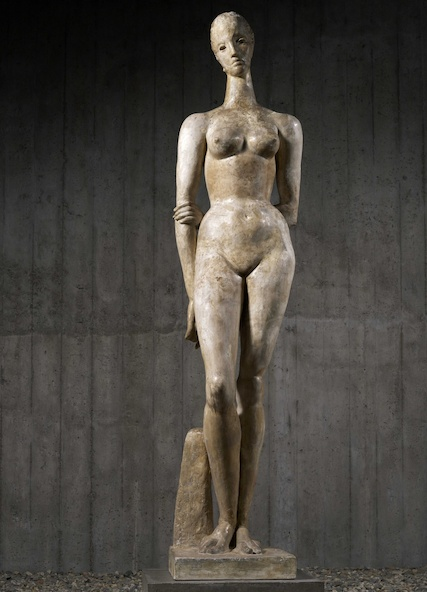 Wilhelm Lehmbruck-Grande figure debout