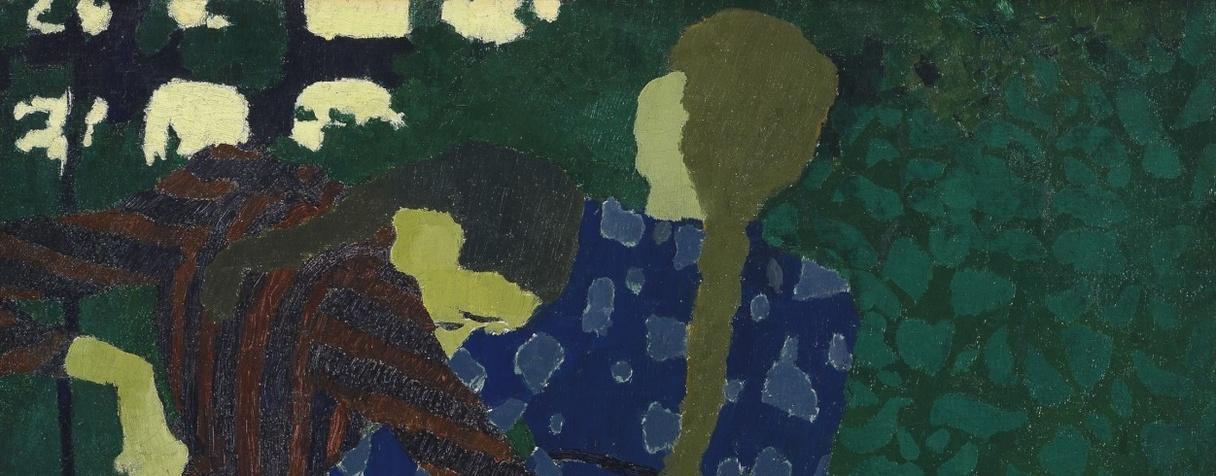 Fillettes se promenant (Vers 1891), Edouard Vuillard
