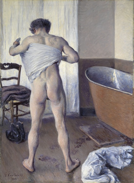 Gustave Caillebotte-Homme au bain