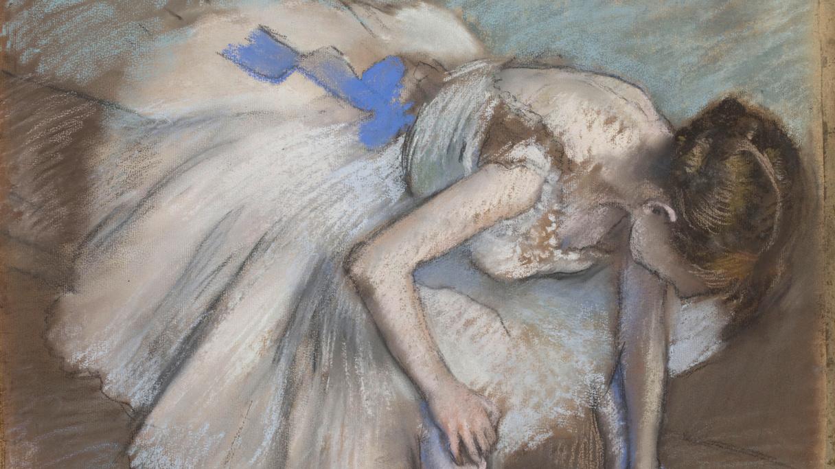 Danseuse assise (entre 1881 et 1883), Degas, Edgar
