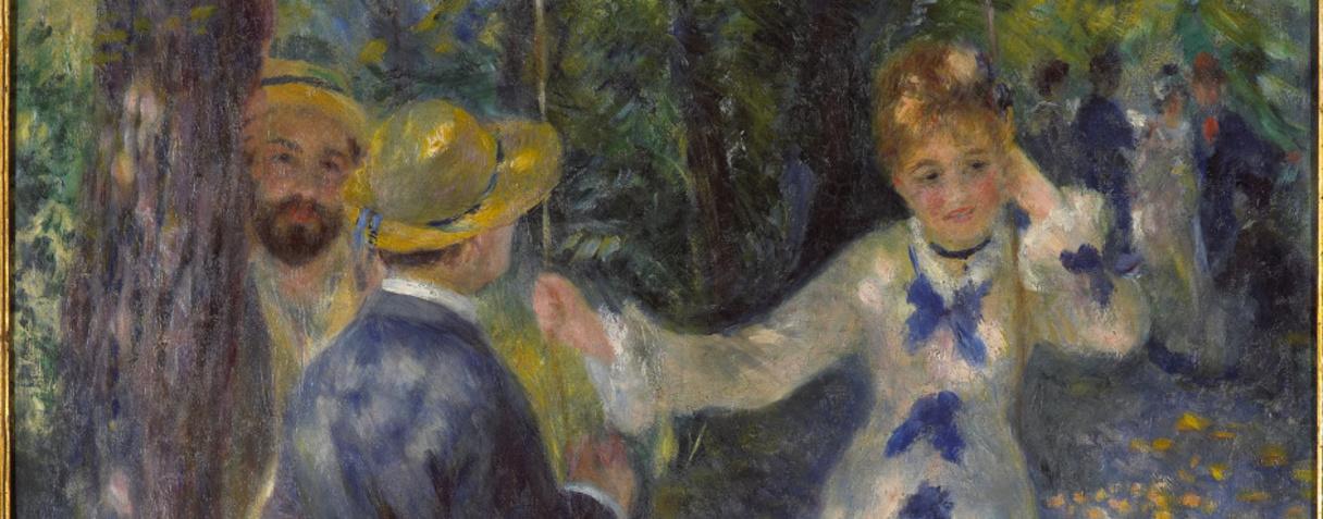La balançoire, Renoir, Auguste, Injalbert Jean-Antoine (1845-1933), Antonin (dit) ,