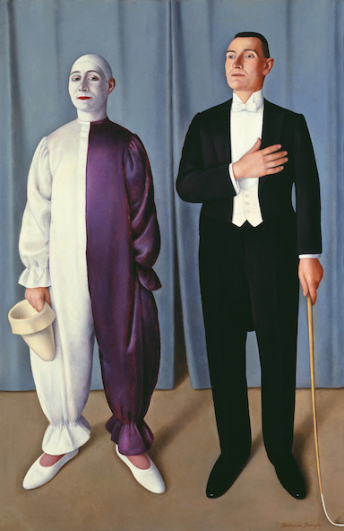 Antonio Donghi-Circo equestre (Cirque équestre)