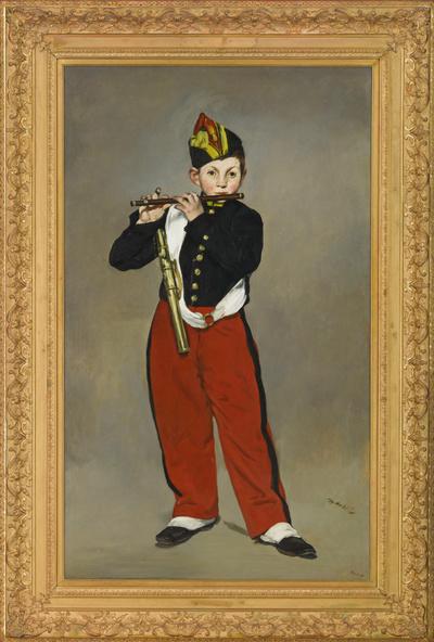 Edouard Manet-Le fifre