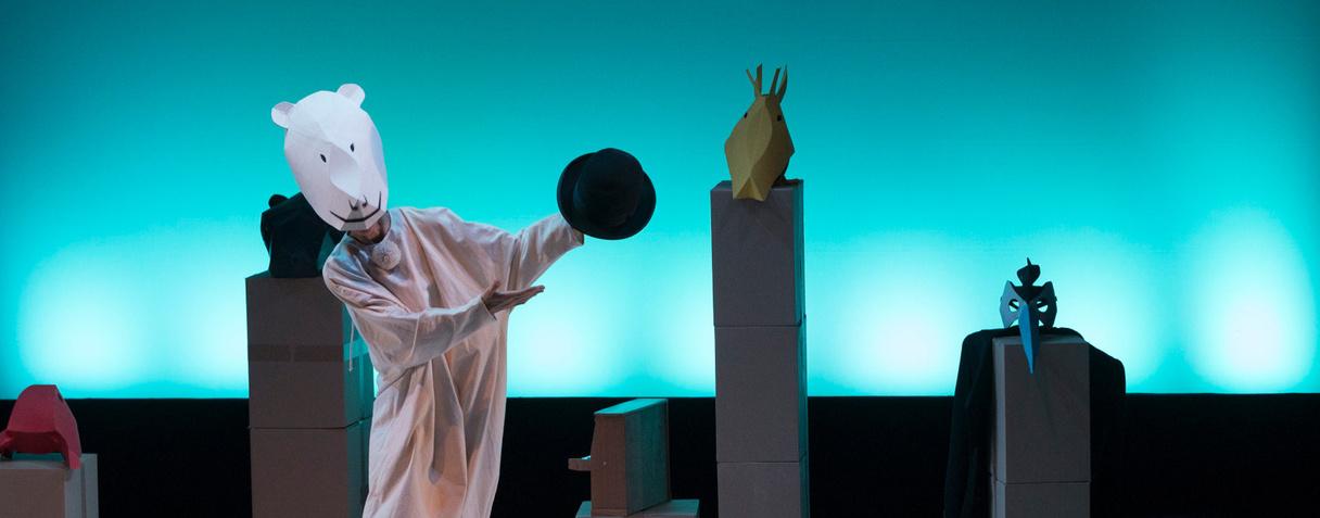 Spectacle « Pompon valse » au musée d'Orsay, septembre 2020