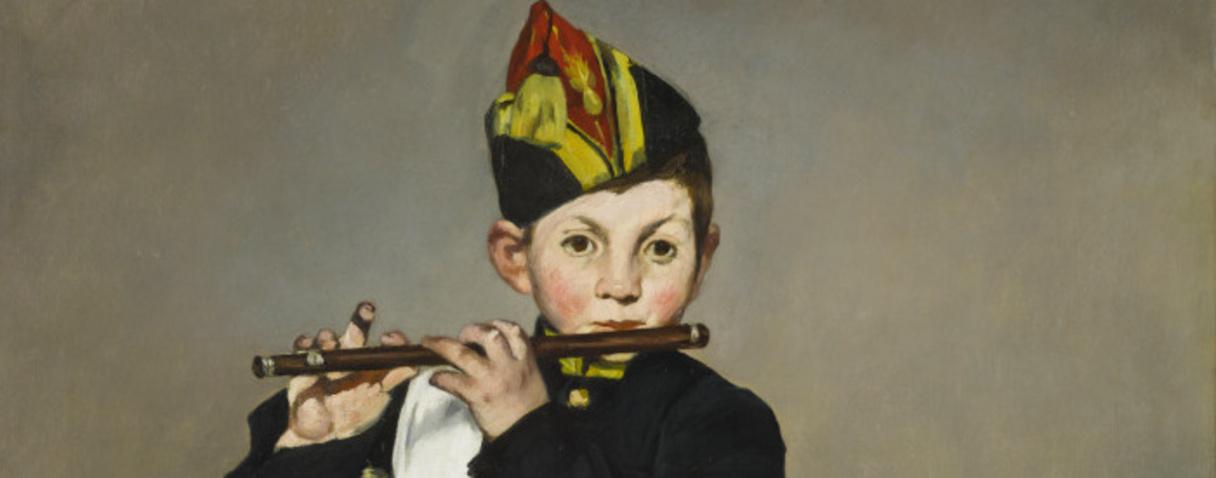 Le fifre (en 1866), Manet, Edouard
