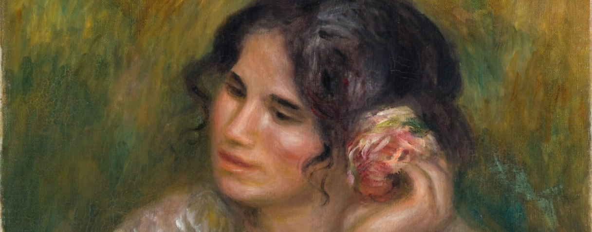Gabrielle à la rose, Renoir, Auguste, Auguste Renoir