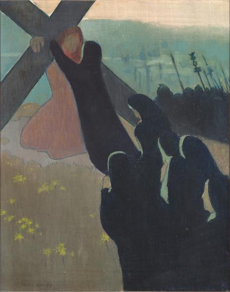 Maurice Denis-Le Calvaire, dit aussi La Montée au calvaire
