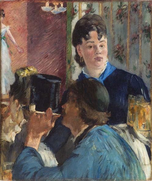 Edouard Manet-La serveuse de bocks