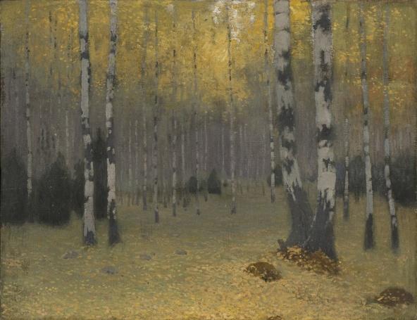 Johann Walter-Forêt de bouleaux