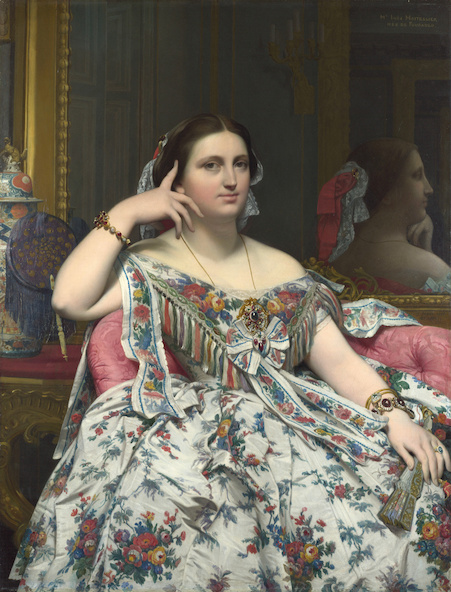 Jean Auguste Dominique Ingres-Madame Moitessier