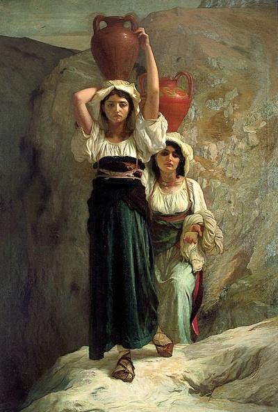 Ernest Hébert-Les filles d'Alvito