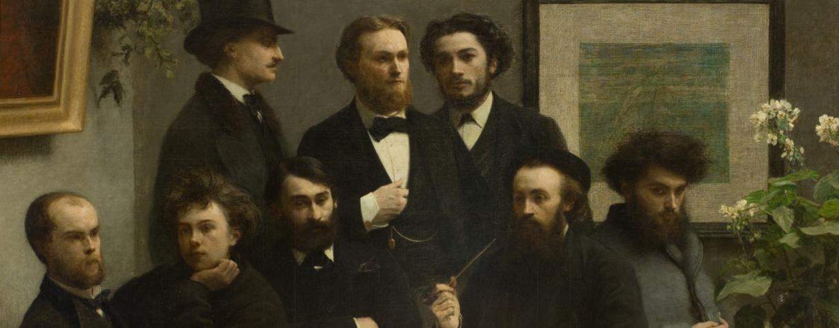 , Fantin-Latour Ignace Henri Jean Théodore (1836-1904) peintre,, Fantin-Latour, Henri