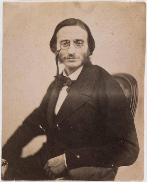 Félix Nadar-Portrait d'Offenbach