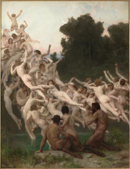 William Bouguereau-Les Oréades