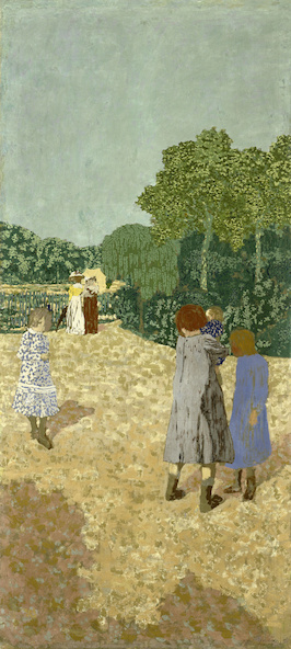 Edouard Vuillard-Jardins publics : la promenade
