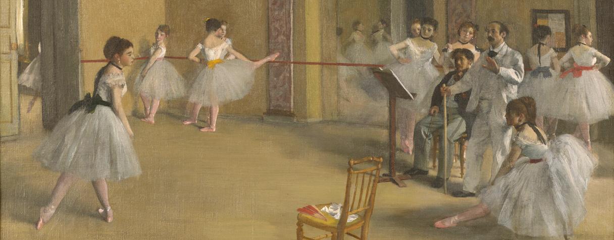 Le Foyer de la danse à l'Opéra de la rue Le Peletier, Degas, Edgar