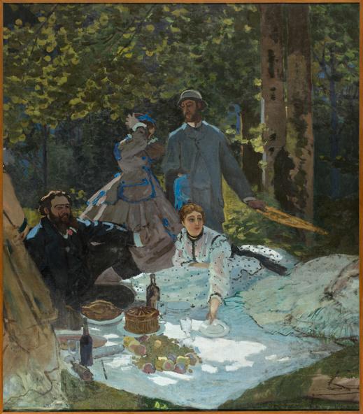 Claude Monet-Le déjeuner sur l'herbe