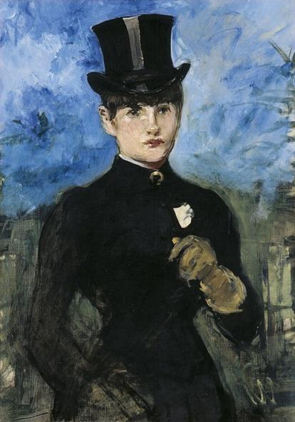Edouard Manet-L'été ou L'amazone