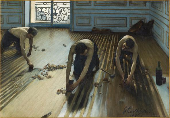 Gustave Caillebotte-Les raboteurs de parquet