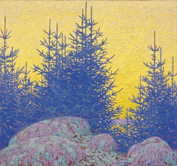 Lawren S. Harris-Paysage décoratif (Decorative Landscape)