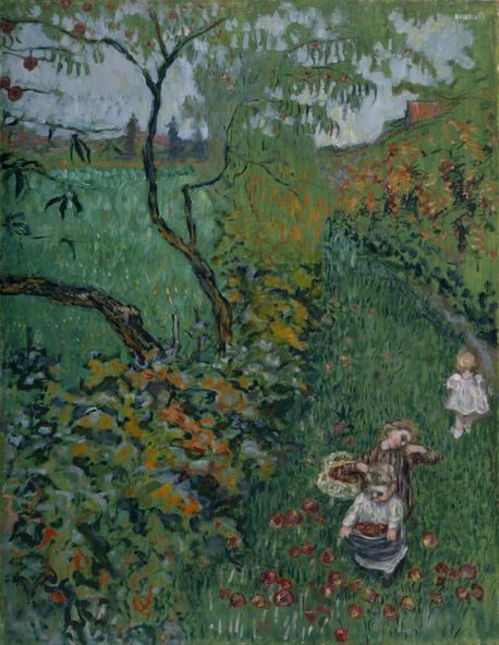 Pierre Bonnard-La cueillette des pommes