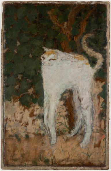 Pierre Bonnard-Le chat blanc