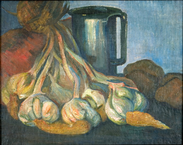 Meijer de Haan-Botte d'ail et pot d'étain