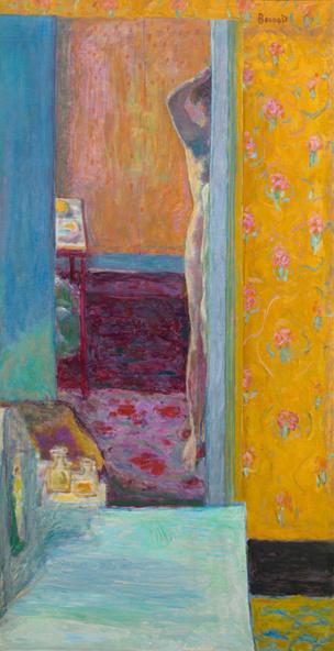 Pierre Bonnard-Nu dans un intérieur