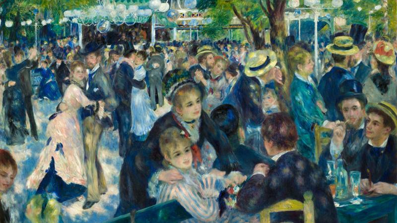 Bal du moulin de la Galette (en 1876), Renoir, Auguste