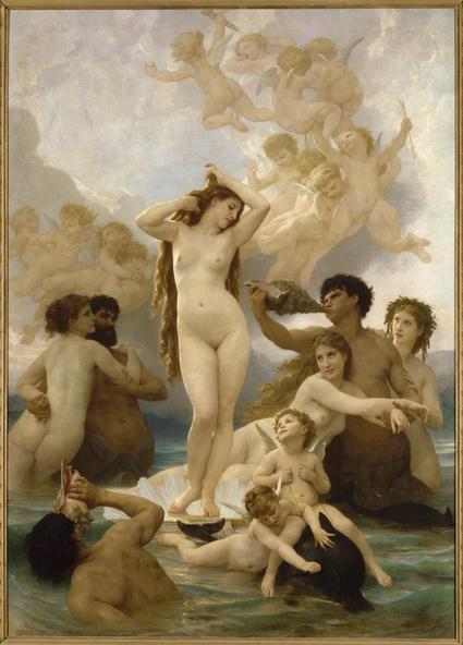 William Bouguereau-Naissance de Vénus