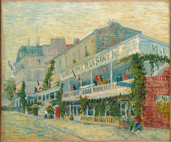 Vincent van Gogh-Le restaurant de la Sirène à Asnières