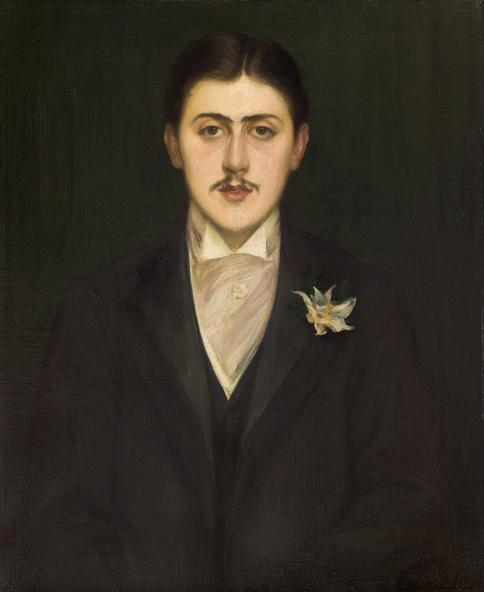 Jacques-Emile Blanche-Portrait de Marcel Proust