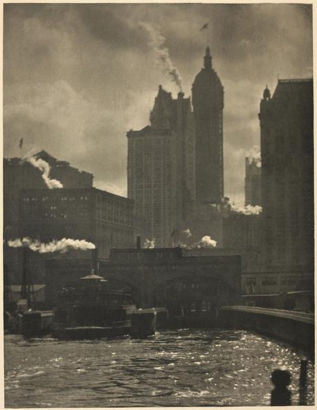 Alfred Stieglitz-The City of Ambition