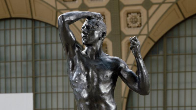 L'Age d'airain, Rodin, Auguste Thiébaut frères
