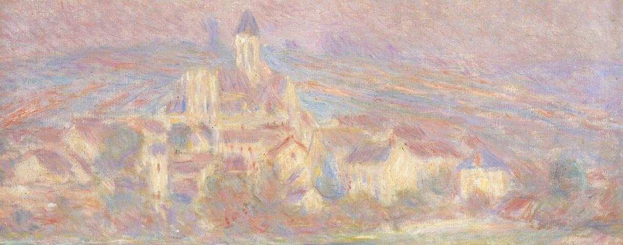 Vétheuil, soleil couchant (Vers 1900), Monet, Claude