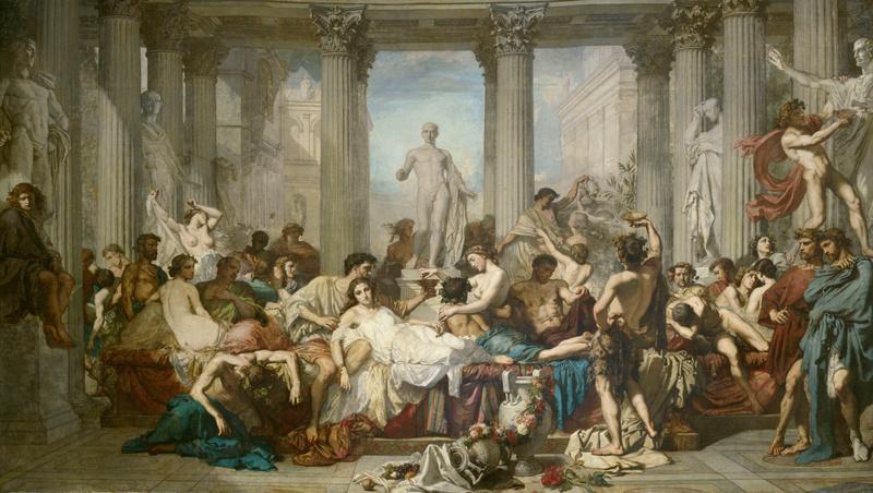 Romains de la décadence (1847), Couture, Thomas