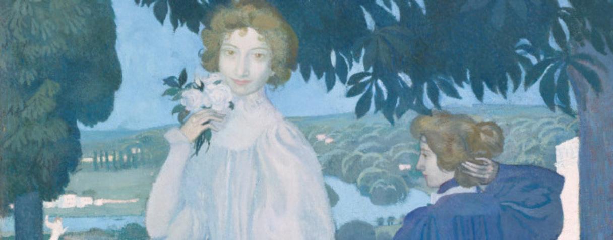 Portrait d'Yvonne Lerolle en trois aspects, Denis, Maurice