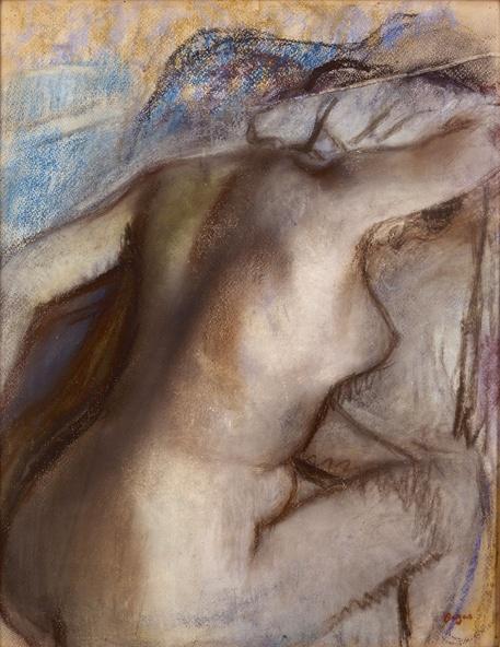 Edgar Degas-Femme nue s'essuyant la nuque