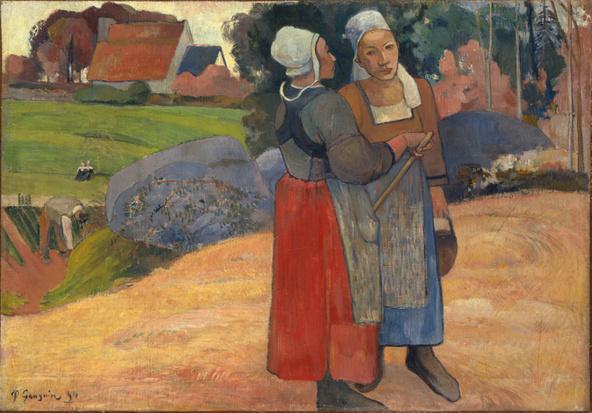 Paul Gauguin-Paysannes bretonnes