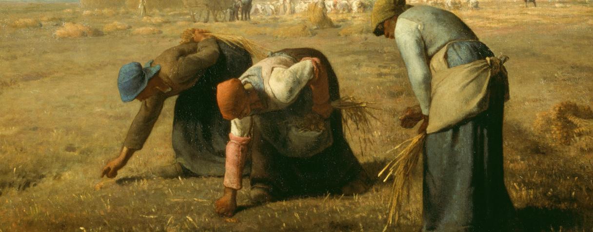 Des glaneuses dit aussi Les glaneuses (en 1857), Millet, Jean-François