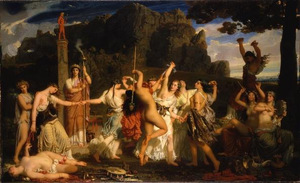 Charles Gleyre-La danse des bacchantes