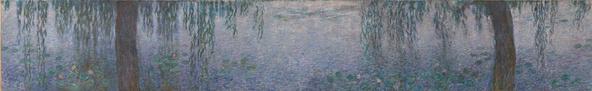Claude Monet-Les nymphéas : le matin clair aux saules