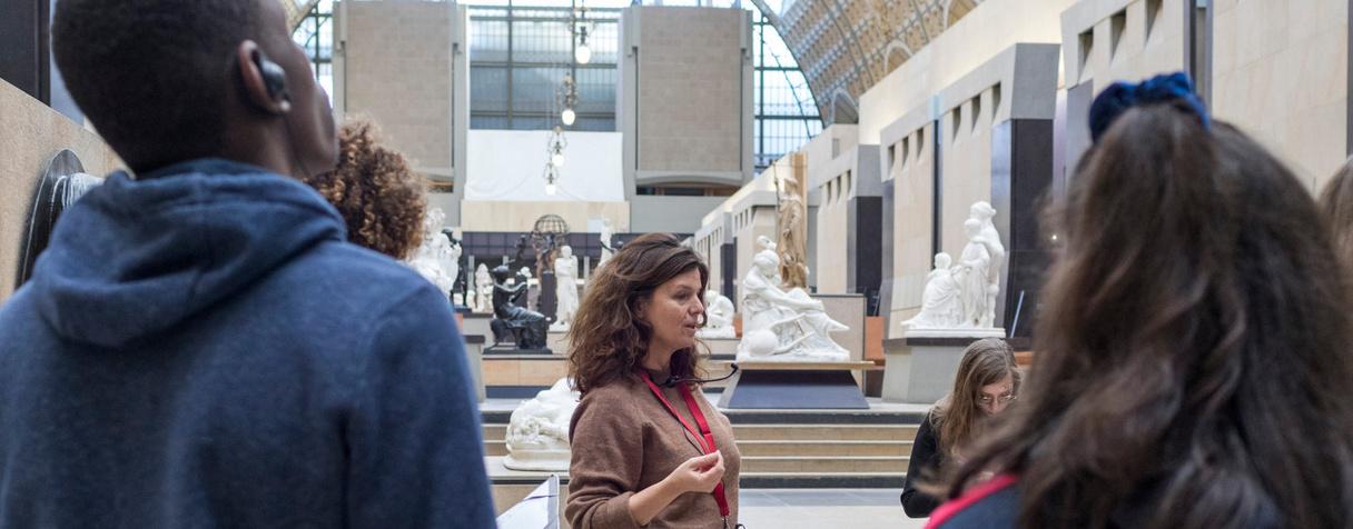 Projet « L'Art se livre » avec le lycée Louis Thuillier d'Amiens