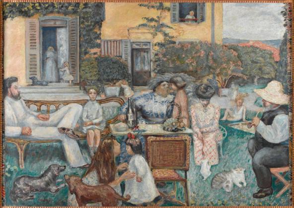 Pierre Bonnard-L'après-midi bourgeoise ou La famille Terrasse